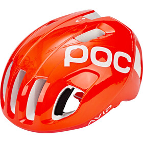 POC Ventral Spin Casco, zink orange avip